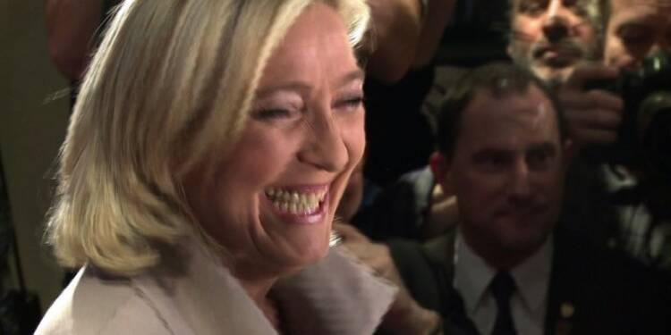 Marine Le Pen au second tour, 15 ans après son père