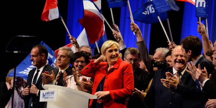 Marine Le Pen n'a finalement pas été la candidate préférée des jeunes