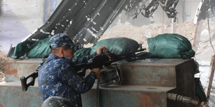 Les forces irakiennes continuent d'avancer dans Mossoul-Ouest