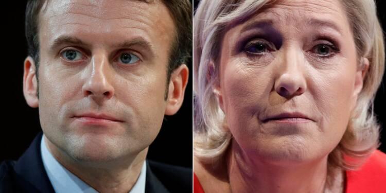 Duel Macron-Le Pen au 2e tour, front républicain contre le FN