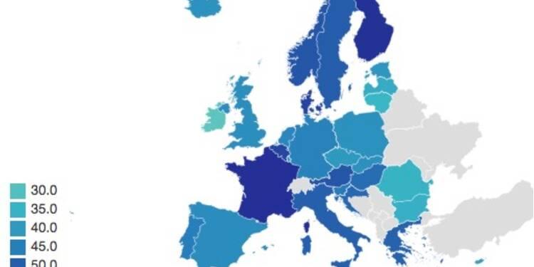 La France, championne d'Europe de la dépense publique