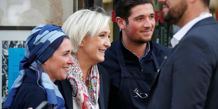 """""""Je ne suis pas la candidate du FN"""", dit Marine Le Pen"""