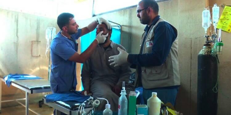 Irak: Près du front à Mossoul, une clinique pour les blessés