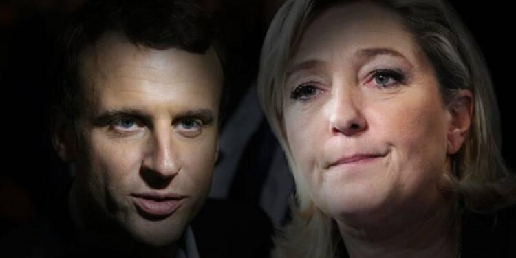 Macron et Le Pen: deux programmes, deux visions de la France