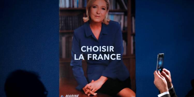"""""""Choisir la France"""", le nouveau slogan de Marine Le Pen"""