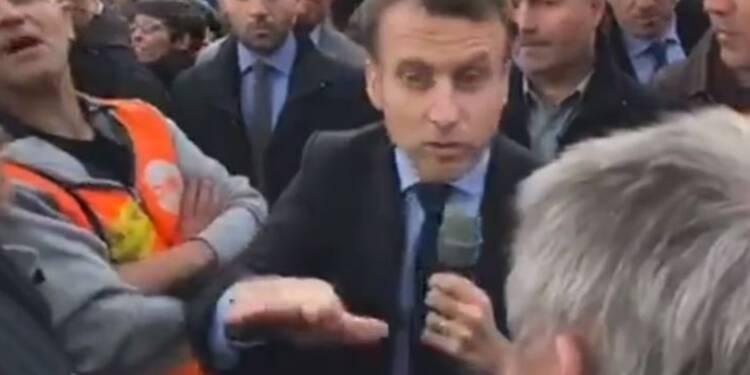 Macron et Le Pen à Whirlpool, deux visions de la mondialisation