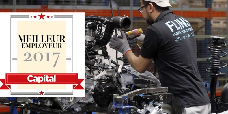 Les employeurs préférés des salariés de l'automobile