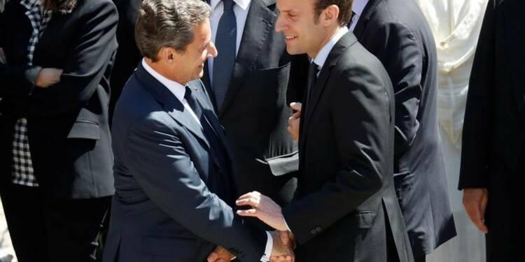 Nicolas Sarkozy annonce qu'il votera Emmanuel Macron