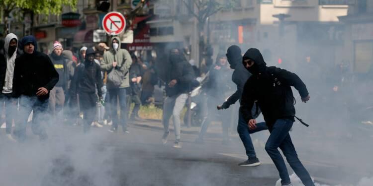 Des manifestations anti FN et Macron dégénèrent à Paris et Rennes