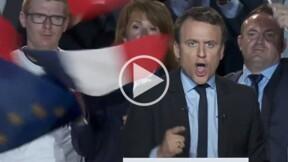 A Arras, Emmanuel Macron hurle littéralement contre le Front national [VIDEO]