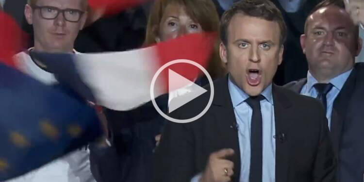 A Arras Emmanuel Macron Hurle Litteralement Contre Le Front
