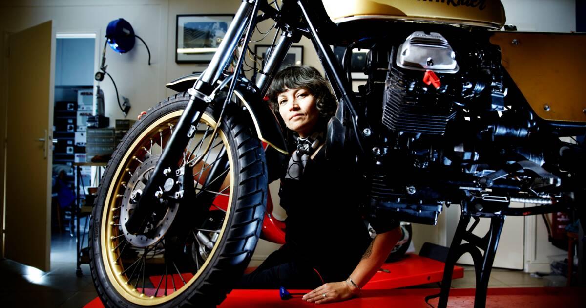 Elle a quitt air france pour ouvrir son garage de motos for Ouvrir garage moto