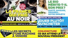 La France qui paie au noir : le grand dossier du nouveau numéro de Capital, aujourd'hui en kiosque