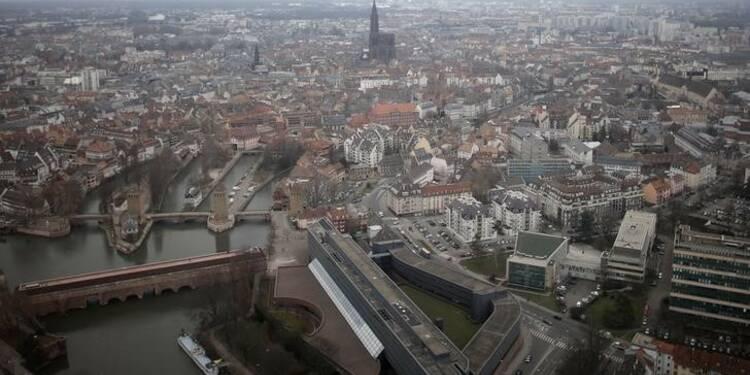 Le tramway de Strasbourg traverse la frontière allemande