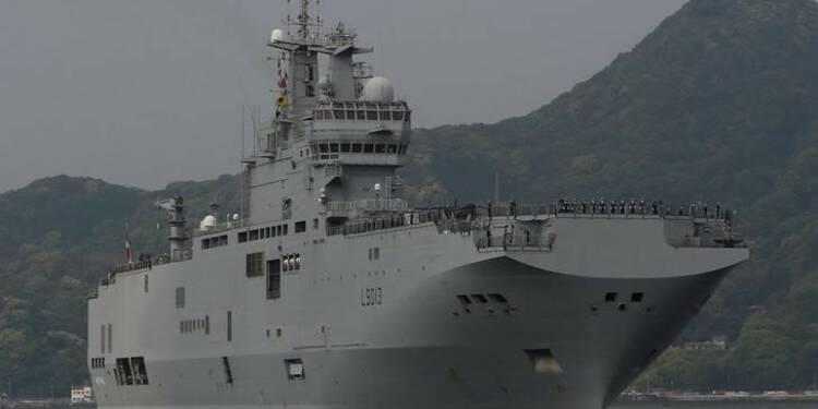 Le Mistral au Japon avant des manoeuvres dans le Pacifique