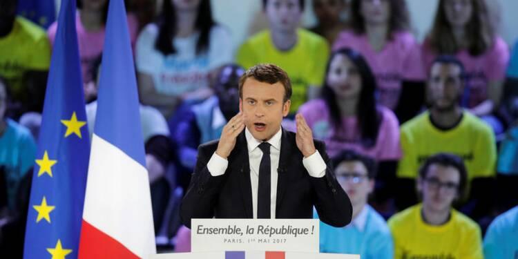 Macron serait élu avec 59% contre Marine Le Pen