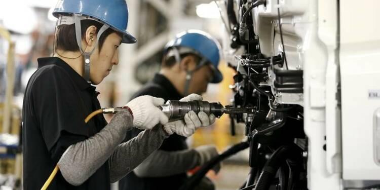 Au Japon, accélération du secteur manufacturier en avril