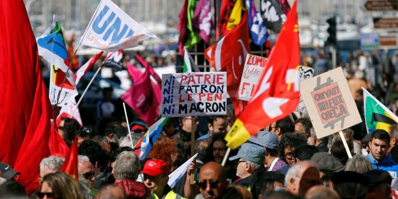 Un 1er-Mai loin du sursaut unitaire de 2002, des heurts à Paris