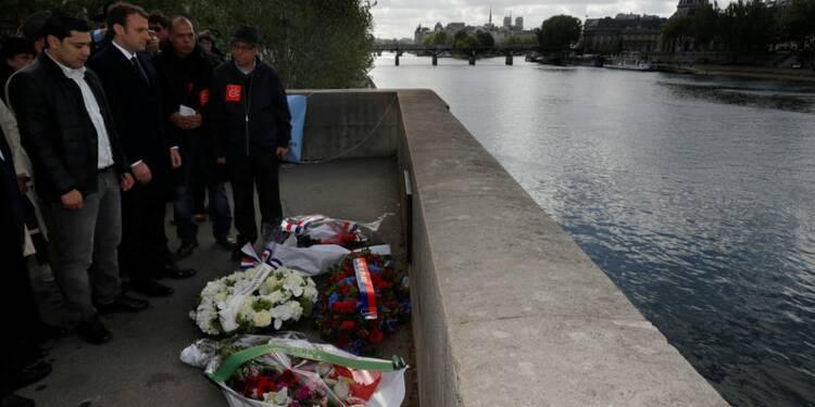 Hommage de Macron à un Marocain assassiné par des skinheads