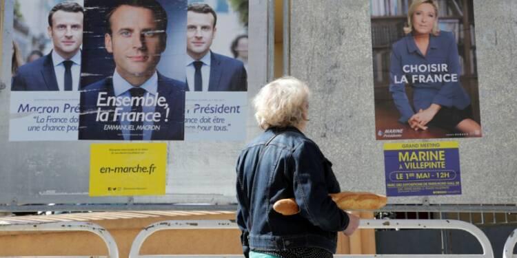 Macron et Le Pen enfin face à face mercredi