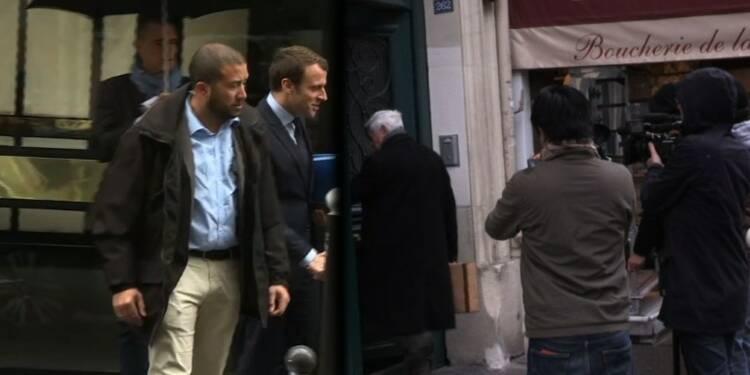 Le Pen et Macron se préparent au débat
