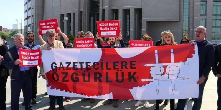 Turquie : rassemblement pour la liberté de la presse