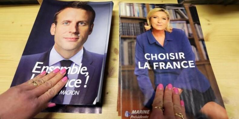 Macron serait élu avec 60% (+0,5) contre Le Pen, selon l'enquête Ifop-Fiducial