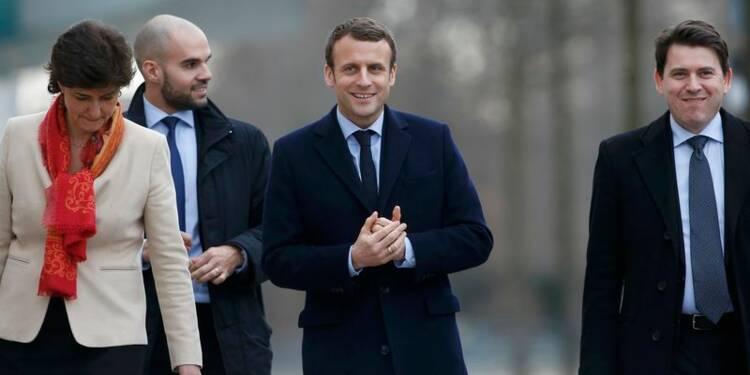 Macron distance Fillon, se rapproche de Le Pen, selon un sondage Ifop Fiducial