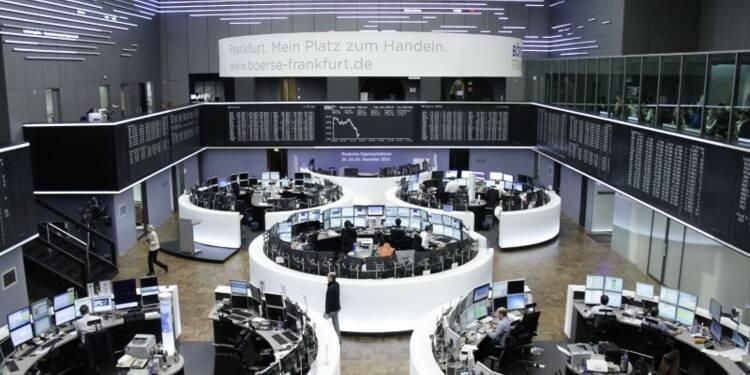 Les Bourses européennes terminent très légèrement dans le vert