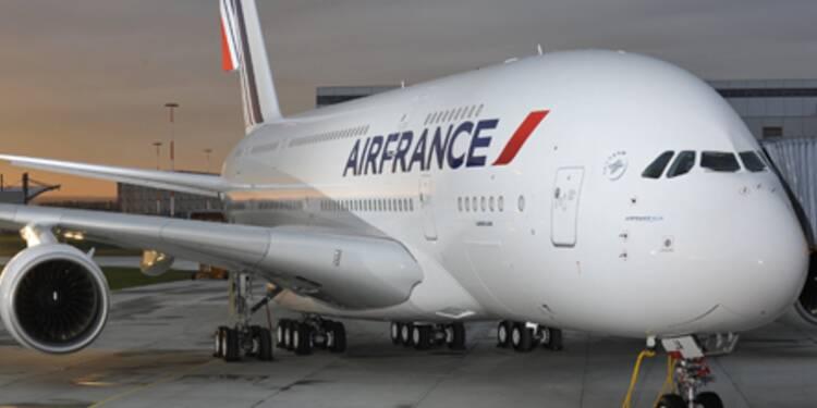 L'action Air France-KLM sous pression après un préavis de grève