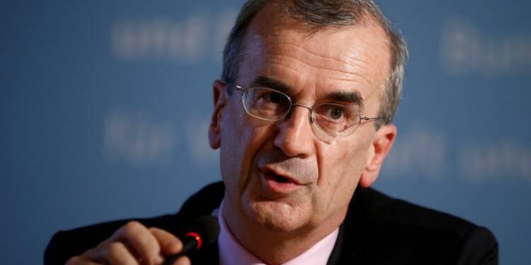 Une double monnaie serait moins crédible, selon Villeroy (BDF)