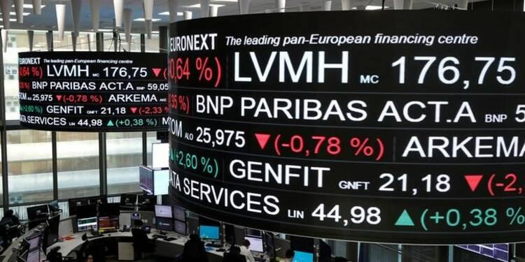 Les Bourses européennes se replient mais les banques montent