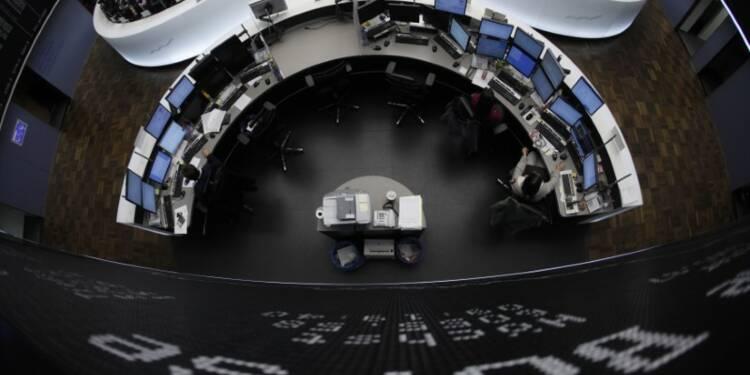 Les Bourses européennes s'affichent en nette hausse
