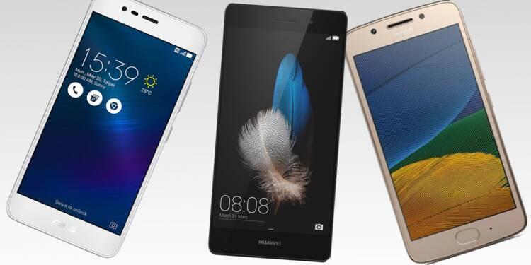Smartphones low-cost : ils sont très performants et trois fois moins chers