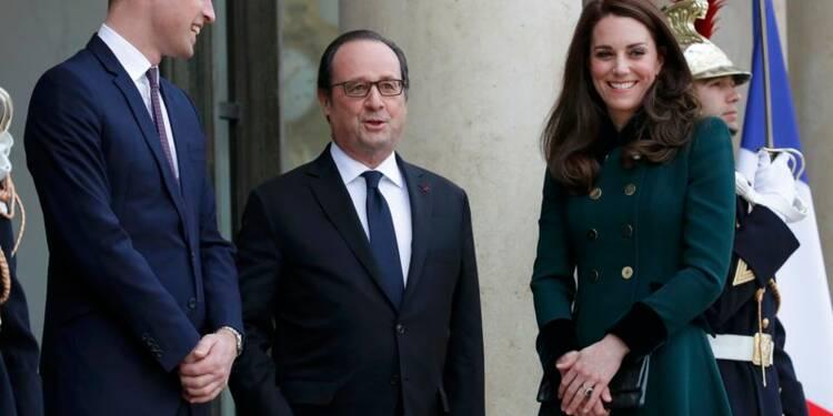 Kate et William d'Angleterre reçus pour la première fois à l'Elysée