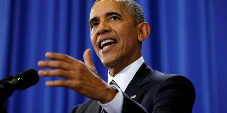 Barack Obama apporte son soutien à Emmanuel Macron