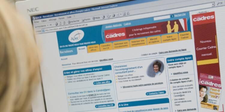 Les offres d'emploi en ligne en hausse de 23% sur un an