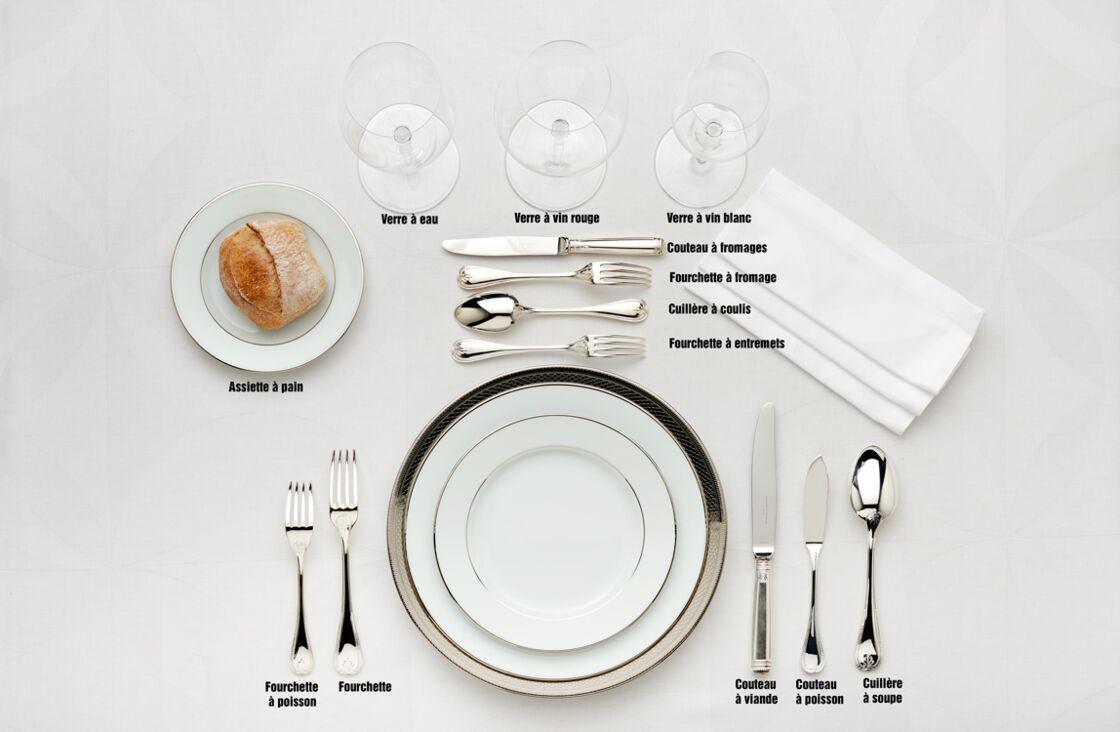Dresser Une Table À L Anglaise christofle ou l'art de dresser une table à la française