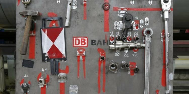 Le résultat net de Deutsche Bahn repasse dans le vert, d'après des documents