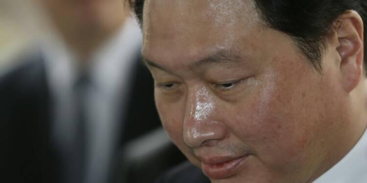 Le patron de SK Group interrogé par la justice sud-coréenne
