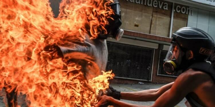 Venezuela: nombreux blessés parmi les manifestants anti-Maduro