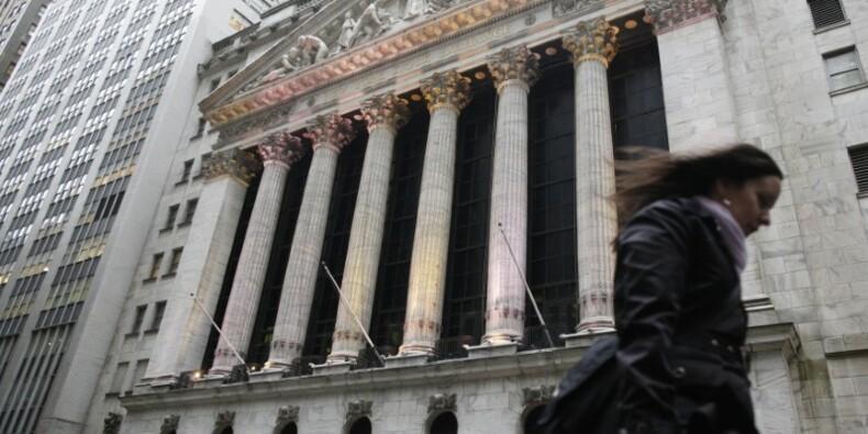 La Bourse de New York accuse une baisse infime