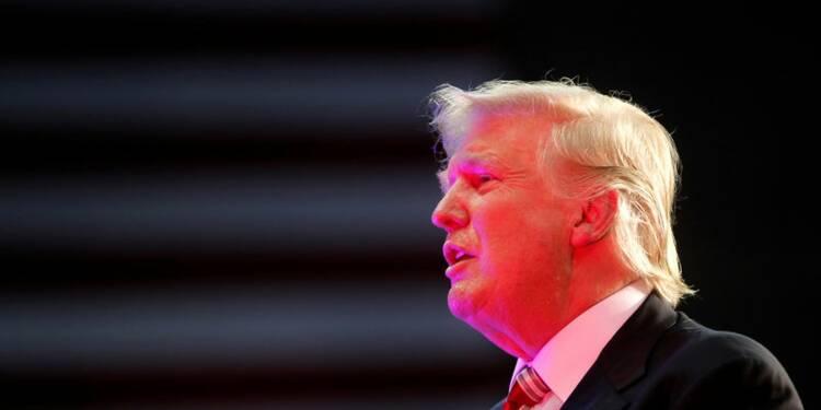 """Donald Trump réagit sur le """"problème"""" de la santé des candidats"""