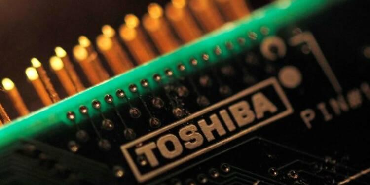 Toshiba vend moins de 20% des mémoires, nucléaire en examen