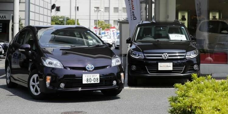 Toyota cède à Volkswagen la place de N°1 mondial des ventes
