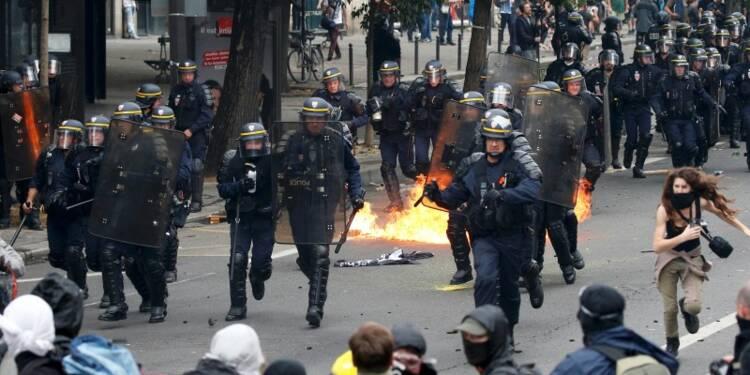 L'IGPN saisie pour un manifestant blessé jeudi à Paris