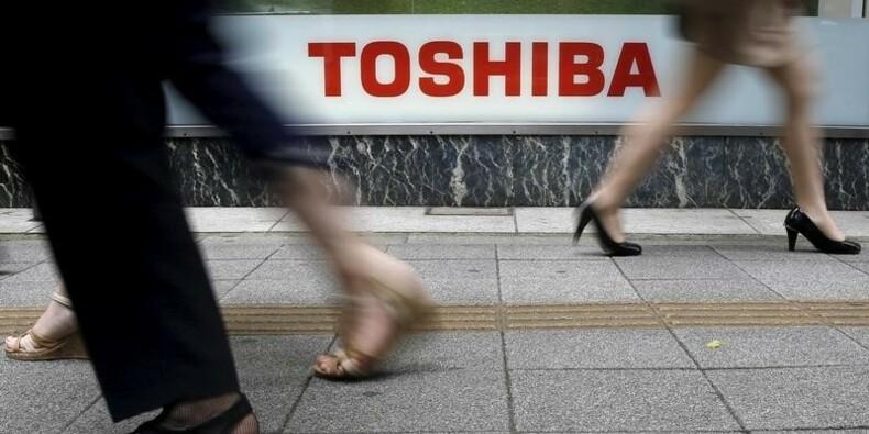 Toshiba poursuivi par un groupe d'investisseurs étrangers