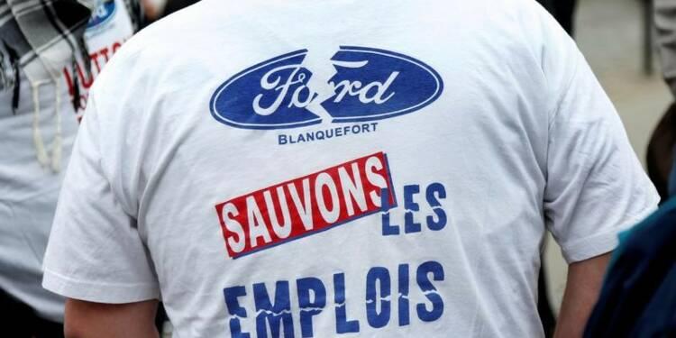"L'Etat ""vigilant"" sur l'emploi chez Ford à Blanquefort"