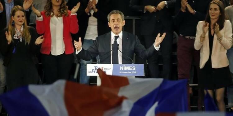 Sarkozy dresse un noir bilan du quinquennat, tacle Juppé et Fillon