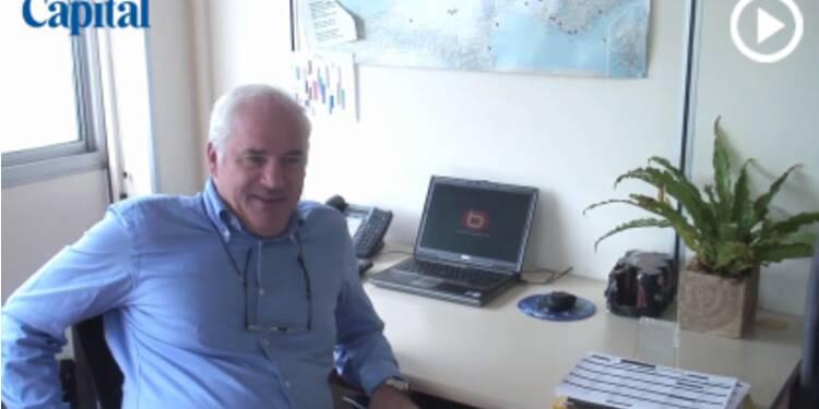 Le bureau de... Francis Cordelette, Pdg de Boulanger